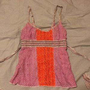 Free People Tank Top Size 4